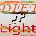 ¿Cuál es la diferencia entre alimentos light y diet?