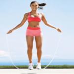 Saltar soga, un ejercicio completo.Aquí los beneficios
