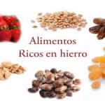 Alimentos con hierro y su importancia en las comidas