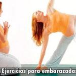 Los ejercicios para embarazadas en cada etapa